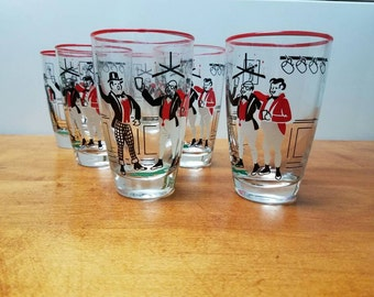 Libbey Highball Glasses set of 6