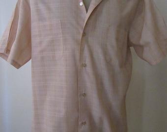 """Vintage """"Mr. California"""" Large Pastel Men's Shirt"""