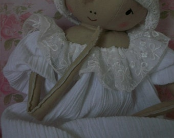 Instant Download LOVE 'n' LACE A Sweet Little Primitive Girl