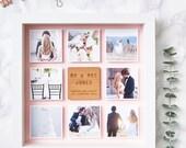 Personalised Framed Wedding Photo Print