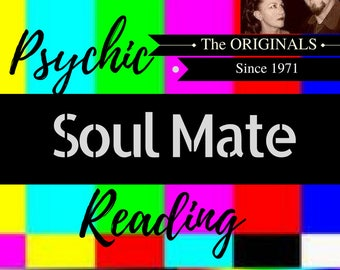 SOUL MATE READING ~Psychic Reading Clairvoyant PDf email reading