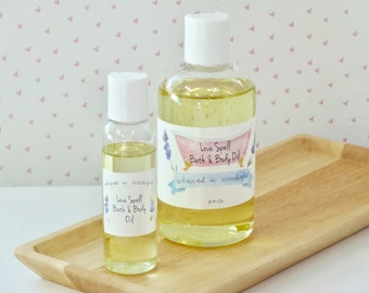 Love Spell Bath & Body Oil