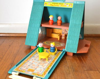 Fisher Price Little People A Frame Chalet 990