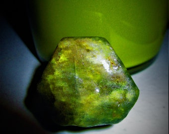 HUGE Apple Green Sapphire - 313ct - Lucid Dreams, love, Calming, Psychic Shielding, Astral Travel, Dreamwork, Ocean Magic, Earth Magic