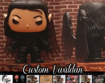 Critical Role Vax'ildan - Custom Funko pop toy