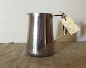 "Large VINTAGE Industrial "" Paramount, K. G. Luke"" stainless steel 2 pint jug.  INDUSTRIAL decor / My Vintage Home"