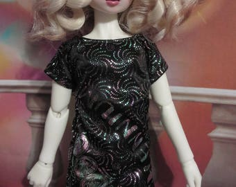 Millennium New Year Sparkle Sack Dress MSD/43cm BJD girl