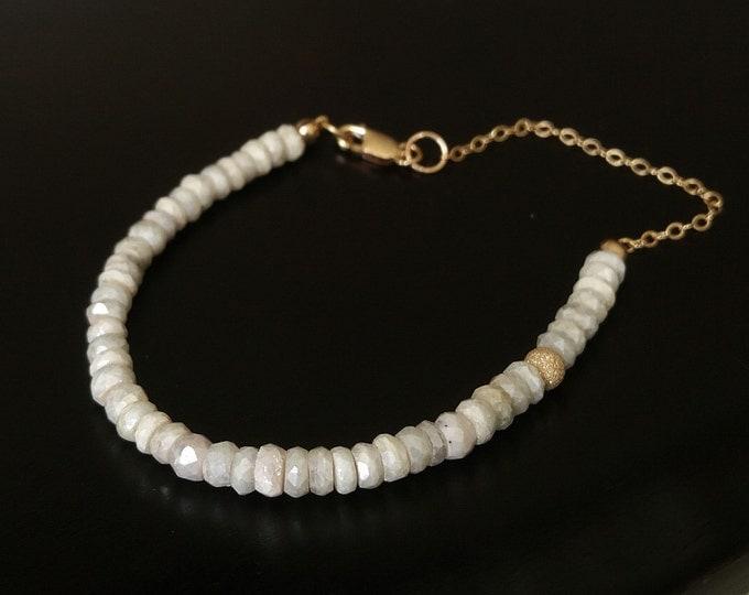 Silverite Bracelet, Gold Silverite Bracelet, Dainty Gold Silverite Bracelet, Dainty Silverite Gold Bracelet, Dainty Silverite Bracelet