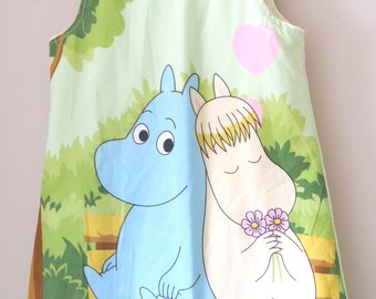 MOOMIN Fabric Pinafore Dress Age 5-6