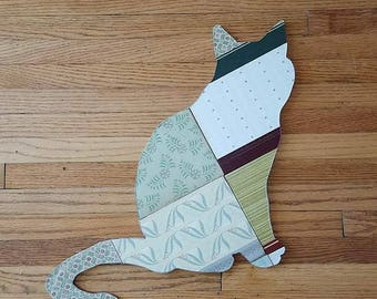 Cat Book Silhouette
