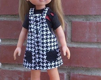jumper and tee for Les cheries and hearts 4 hearts dolls 13-14 inch dolls