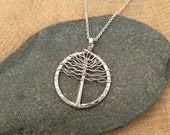 Sterling Silver Tree of Life Pendant, Proceeds go to North Carolina Conservation Network