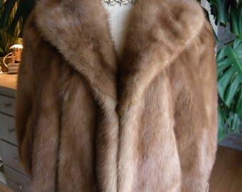 Lovely Opera  mink fur stole / cape / wedding