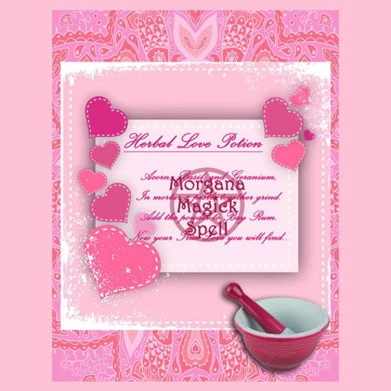 Herbal Love Potion