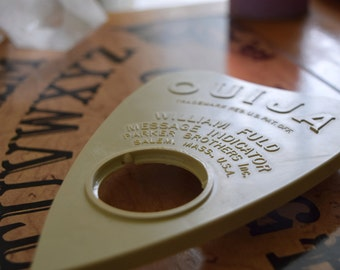 Chit Chat & A Bit More - Vintage 1960's William Fuld Ouija Board - saged and cleansed, talking board.