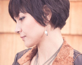 Cleaver Charm Earrings