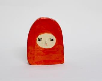Un Ser Rojo - Flat sculpture