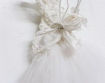 vintage floral bridal clip flower