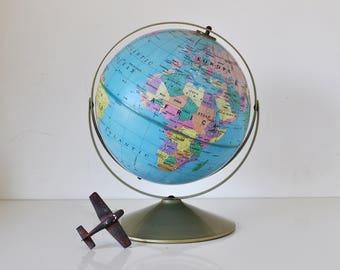Vintage Globe Rand McNally 1985 Gyromatic Mount