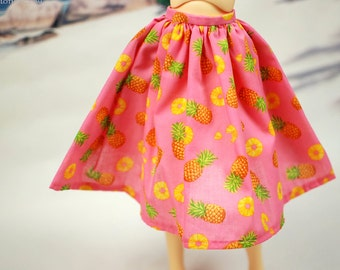 Delf Feeple 60 Pink Pineapple Skirt For SD BJD - One Only
