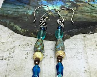 Fish Earrings - Ocean Jewelry, Beach Gifts, Fish Jewelry, Womens Earrings, Fisherman, Friendship Gifts, Gone Fishing, Fishing, Nautical