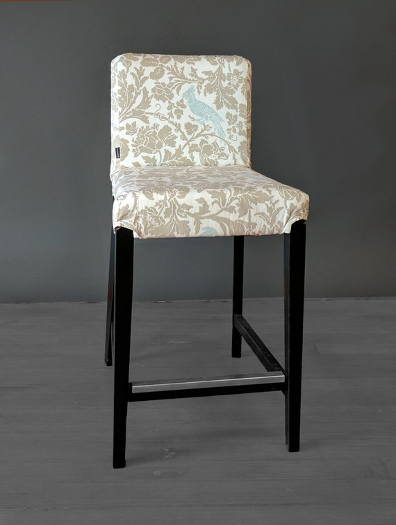 Cockatoo Custom Ikea Henriksdal Bar Stool Chair Cover