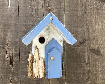 Rustic Birdhouse Farmhouse Country Handmade Functional Garden Birds Nest Bird House Hand Painted,Yard Birdhouses For Sale, Item #510909318