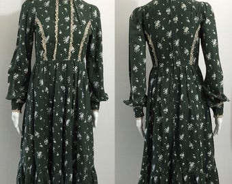 Reserved Early 1970's Laura Ashley dress