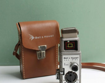 Bell and Howell One Nine 8mm Camera, 8mm camera, vintage movie camera