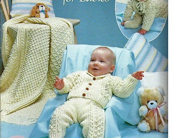Fisherman crochet for Babies Crochet Pattern Book Leisure Arts Leaflet 288