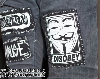 Disobey - Punk Patch