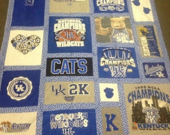 TShirt Quilt- made from your tshirts!!!!!