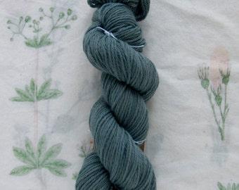 Naturally Dyed Indigo Superwash Yarn
