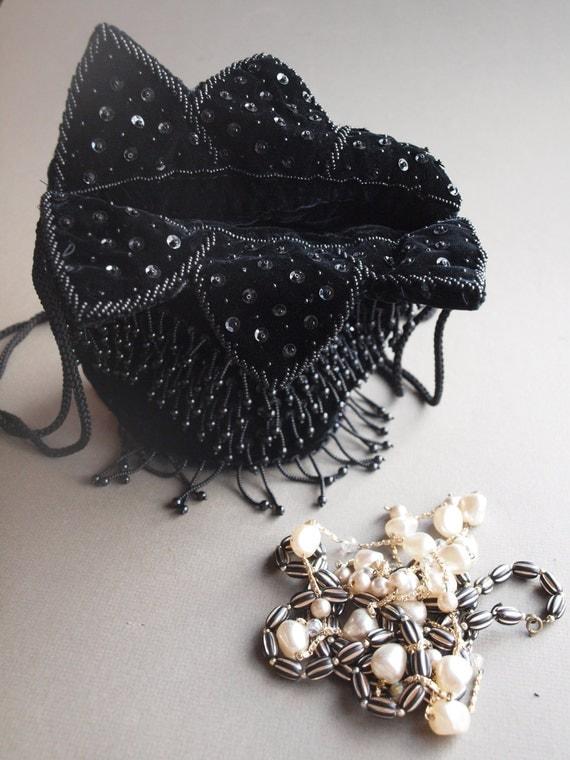 how to make a drawstring evening purse