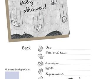 Baby Shower Invitation - 10-pack