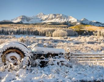Colorado Landscape Photography Print - Wilson Mesa Autumn - Telluride Rocky Mountain - MetalPrint Option - 11x14 16x20 20x30 24x36 30x40