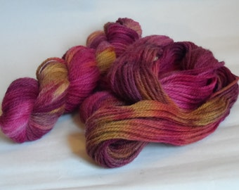 Blackberry Crumble Variegated Aran Wool 50g