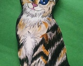 Torby Kitten Spoon rest by Nina Lyman Cats By Nina