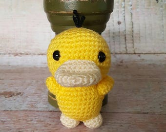 Made to order Crochet chibi Psyduck