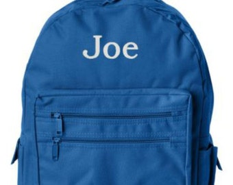 Boys Backpack, Toddler Backpack, Preschool Backpacks, Personalized Backpacks, Backpack for Boys, Back To School, Embroidery Gifts