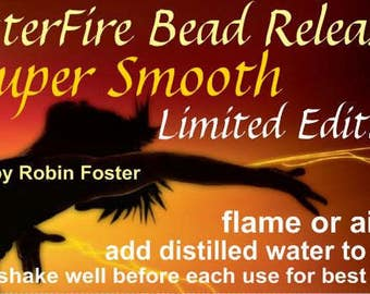 Limited Ed FosterFire Super Smooth formula, 18 oz. Flame or Air Dry