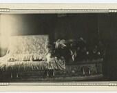 Vintage Snapshot Photo: Open Casket Post Mortem, c1930s (612525)
