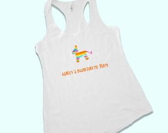 cinco de mayo shirt - cinco de mayo bachelorette - cinco de mayo tank - pinata shirt - pinata tank - custom bachelorette party shirt