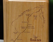 BOULDER RIVER MAP Fly Box...