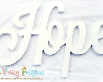 White Script Painted Letters, White Baby Name Wood Letters, Script White Nursery Letters, Cursive Newborn Prop Letters Script Baby Name Sign