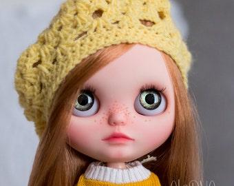 Blythe beret - yellow