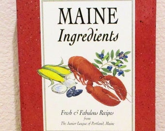 MAINE Ingredients Junior League of Portland 1995