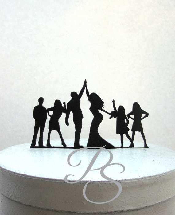 wedding cake toppers high five wedding cake topper family high five 26493