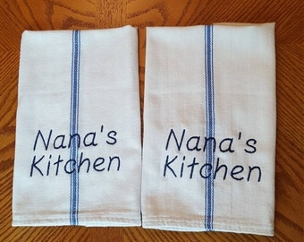 Grandmother name kitchen towels