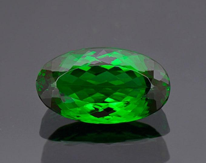 World Class Green Chrome Tourmaline Gemstone from Tanzania 12.54 cts.